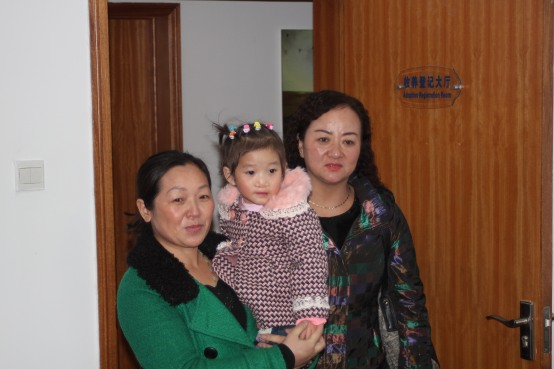 Nannies from the orphanage in Fuyang...they clearly love Emma and kept telling us how sweet of a girl she is.